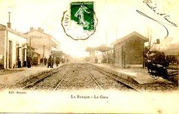FRANCE. Carte Postale écrite. La Barque/La Gare. - Otros Municipios