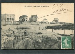 CPA - LE CROISIC - La Plage Du Port Lin, Animé - Le Croisic