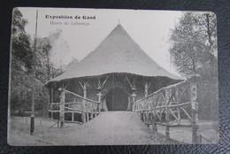 Cp/pk Gent Expo 1913 Hutte De Lubamgo - Gent