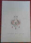"""Programme Opéra De Lyon Saison 1962-1963 """"Violettes Impériales"""" Avec Billets D'entrées Marcel MERKES Paulette MERVAL - Programs"""