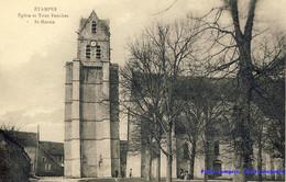 91 - Etampes - Eglise Et Tour Penchée St-Martin - Etampes
