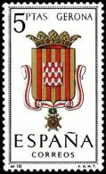 ESPAÑA SEGUNDO CENTENARIO NUEVO Nº 1486 ** 5P GERONA ESCUDOS - 1931-Aujourd'hui: II. République - ....Juan Carlos I