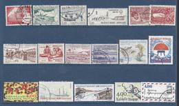 GROENLAND - 1969-2003 - Petit Lot De 30 Timbres Oblitérés Entre N° 61 Et 377 -  TB - 2 Scans - - Lots & Serien