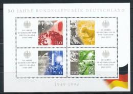 GERMANY Mi. Nr.Block 49 50 Jahre Bundesrepublik Deutschland  - MNH - [7] West-Duitsland
