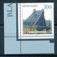 GERMANY Mi. Nr. 2109  Brücken - Eckrand Links Unten - MNH - BRD