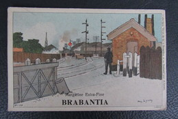 Cp/pk Reclame Pub Brabantia Margarine A.Lynen Collection De-ci, De-la à Bruxelles Et En Brabant Nr199 - Publicité