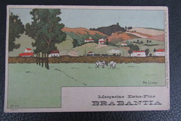Cp/pk Reclame Pub Brabantia Margarine A.Lynen Collection De-ci, De-la à Bruxelles Et En Brabant Nr 62 - Publicité
