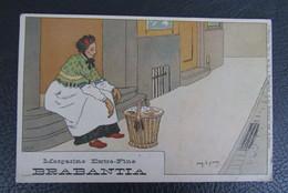 Cp/pk Reclame Pub Brabantia Margarine A.Lynen Collection De-ci, De-la à Bruxelles Et En Brabant Nr 51 - Publicité
