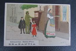 Cp/pk Reclame Pub Brabantia Margarine A.Lynen Collection De-ci, De-la à Bruxelles Et En Brabant Nr 109 - Publicité