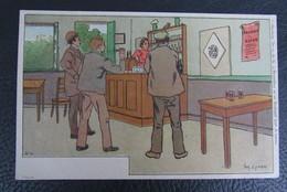 Cp/pk Reclame Pub  A.Lynen Collection De-ci, De-la à Bruxelles Et En Brabant Nr 4 - Publicité