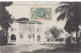 Afrique - Guinée - Conakry - Bâtiment Service Des Travaux Publics - AOF 1909 - Guinea Francesa