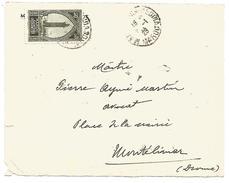 MAROC DEVANT DE LETTRE DE MARRAKECH MEDINA POUR LA FRANCE DU 9/1/1928 - Marokko (1891-1956)