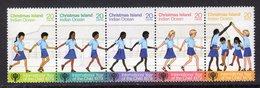 CHRISTMAS ISLAND - 1979 INTERNATIONAL YEAR OF THE CHILD IYC SET (5V) FINE MNH ** SG108-112 - Childhood & Youth