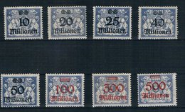 Danzig Michel Nr. 169 - 176 Postfrisch - Danzig