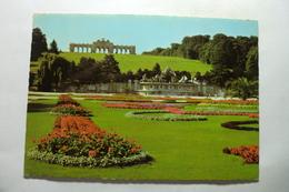 Wien - Schönbrunn - Parkanlage Mit Gloriette Und Neptunbrunnen - Château De Schönbrunn