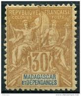 Madagascar (1896) N 36 * (charniere)