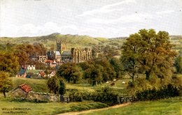 AR QUINTON - SALMON 3054 - WELLS CATHEDRAL FROM MILTON HILL - Quinton, AR