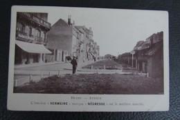 Cp/pk Reclame Pub L'Amidon Vermeire's Negress Est Le Meilleur Marché Heist Heyst Avenue - Hamme Trade Mark - Publicité