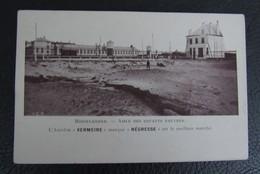Cp/pk Reclame Pub L'Amidon Vermeire's Negress Est Le Meilleur Marché Middelkerke - Asile Des Enfants  - Hamme Trade Mark - Publicité
