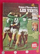 RTL Présente Les Vets 1957/1981. Saint-Etienne. Football. 128 Pages Nombreuses Photos. 1981 - Sport