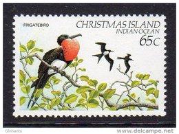 CHRISTMAS ISLAND - 1982 65c FRIGATE BIRD FINE MNH ** SG162 - Christmas Island