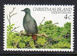 CHRISTMAS ISLAND - 1982 4c IMPERIAL PIGEON BIRD FINE MNH ** SG155 - Birds