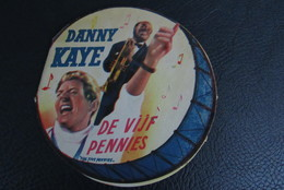 Flyer Promo Louis Armstrong Danny Kaye The Five Pennies De Vijf Pennies Paramount - Chanteurs & Musiciens