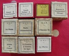 Lots De 10 Films Fixes. Film Fixe. Pédagogique. Cinéma Photo Croix-rouge Cuisine Artistes Maroc Radio Assurance-vie - Pellicole Cinematografiche: 35mm-16mm-9,5+8+S8mm