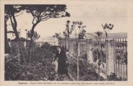Italy Caprera Donna Clelia Garibaldi In Her Garden