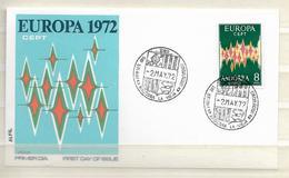 1972 FDC Europa/cept Andorra - Europa-CEPT
