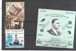 EGYPTE Nº  651 AL 654 - Égypte