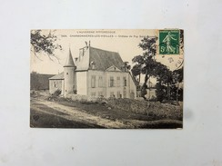 63 CHARBONNIERES LES VIEILLES : Chateau Du Puy Saint-Bonnet, En 1911 - France