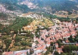 # Grimaud - Vue Aérienne Sur Le Bourg Et Les Ruines - Francia