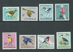 Australia 1966 Bird Decimal Definitives 8 Values -> 30c MNH - Australia