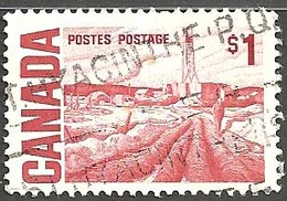 Sc.#465B Centennial Definitives High Values, Edmonton Oilfield  Used 1967-7 K415 - 1952-.... Règne D'Elizabeth II