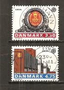 Dinamarca-Denmark Yvert Nº 978-79 (usado) (o) - Dinamarca