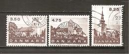 Dinamarca-Denmark Yvert Nº 989-91 (usado) (o) - Dinamarca