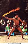 # Samoa Américaine - Dextrous Samoan Twirls Sword In Exciting Performance At Polynesian Cultural Center - American Samoa