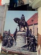 ROMANIA CLUJ NAPOCA STATUA  MATEI CORVIN VB1987 FW9840 - Romania