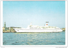 "Russia Liner - TS  "" Maxim Gorki "" - Schiff - Ship - Dampfer - Paquebots"