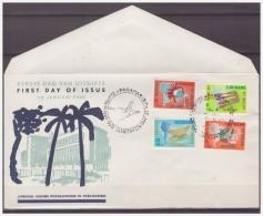 Surinam / Suriname 1960 FDC 12-2M Local Art Negro Indian - Surinam ... - 1975