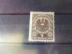 AUTRICHE  YVERT N°224* - 1918-1945 1. Republik