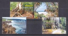 Christmas Island 2014 National Park Set Of 4 MNH - Christmas Island