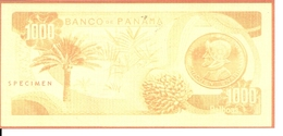 PANAMA 1000 BALBOAS  UNC Reproductions - Panama
