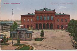 POLOGNE . POZNAN / POSEN . Hauptbahnhof - Pologne