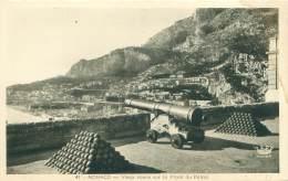 MONACO - Vieux Canon Sur La Place Du Palais - Monaco