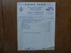 GARAGE HOCHE, HOUILLES SEINE ET OISE, GABRIEL MARGANTIN, RENAULT 4 CV, - 1900 – 1949