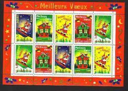 1998-BLOC N°21** MEILLEURS VOEUX - Ongebruikt