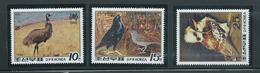 Korea 1988 Australian Bird Set Of 3 MNH - Korea, North