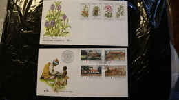 South Africa Transkei 32-35 Medicinal Plants NO CANCEL 125-128 Post Offices Day Of Issue Cancel 1981-1984 A04s - Transkei